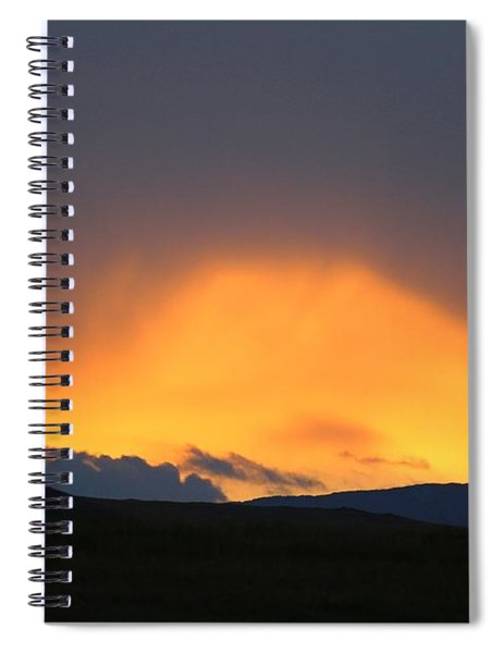 Livingstone Range Sunset Spiral Notebook