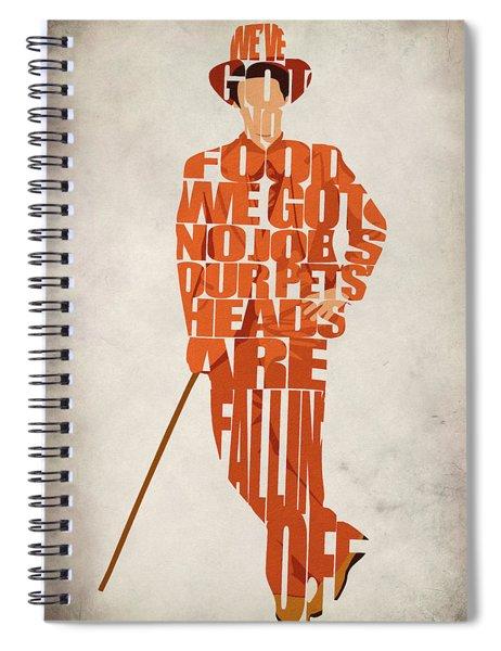 Lloyd Christmas Spiral Notebook