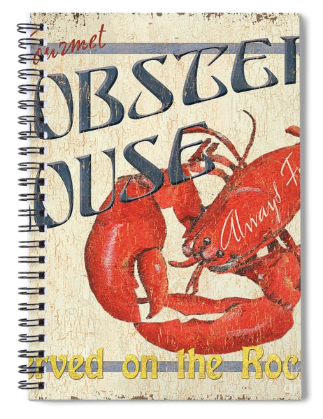 Lobster House Spiral Notebook