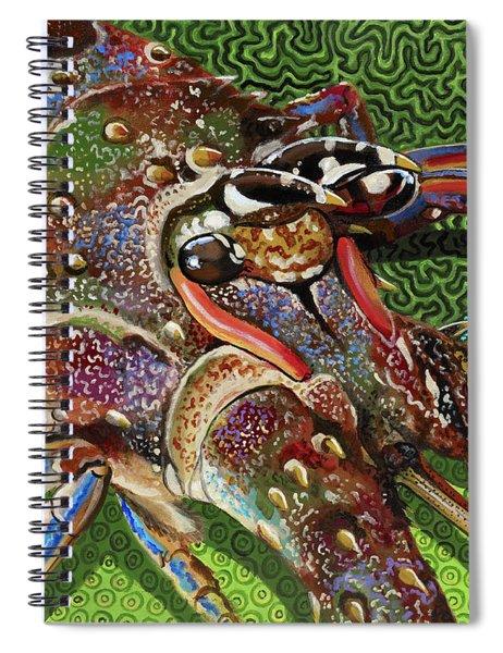 lobster season Re0027 Spiral Notebook