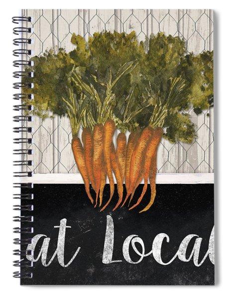 Local Grown I Spiral Notebook