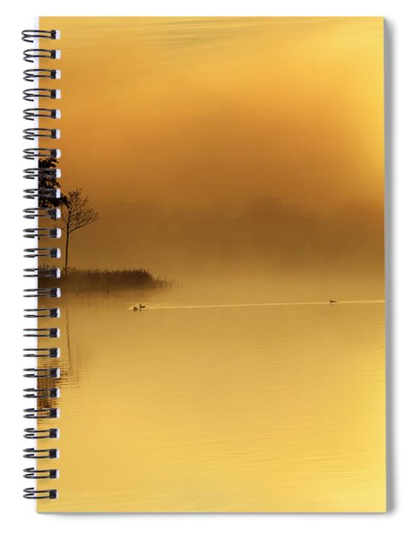 Loch Ard Morning Glow Spiral Notebook