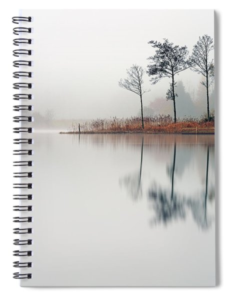 Loch Ard Reflections Spiral Notebook