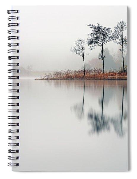 Loch Ard Reflections Spiral Notebook