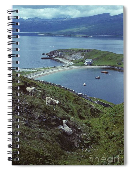 A Quiet Corner Of Loch Eriboll  Spiral Notebook