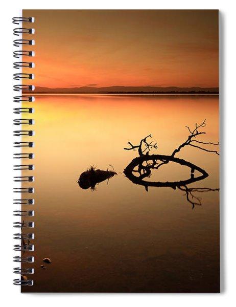 Loch Leven Sunset Spiral Notebook