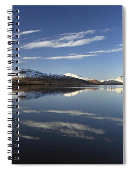 Loch Lomond Reflection Spiral Notebook