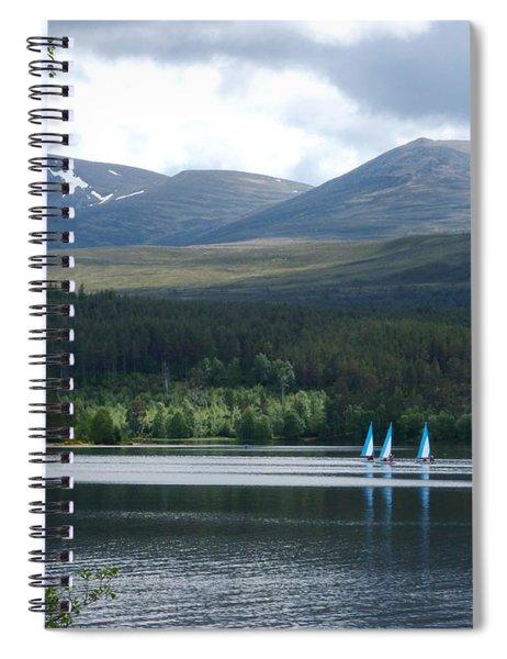 Loch Morlich - Cairngorm Mountains Spiral Notebook