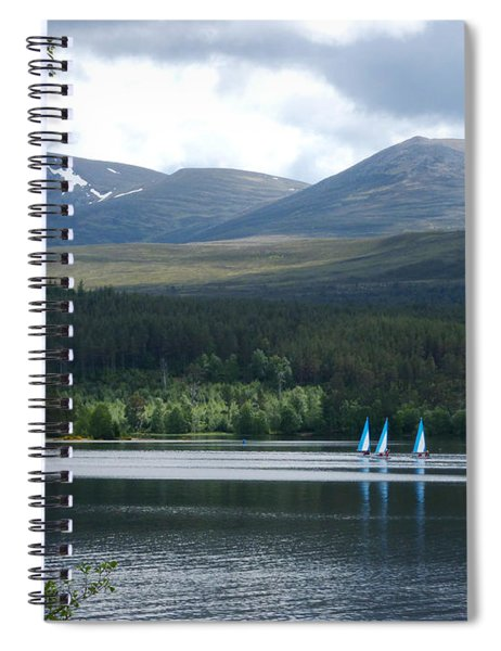 Loch Morlich - Cairngorm Mountains Spiral Notebook