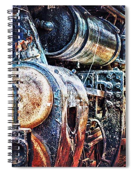 Locomotive Spiral Notebook
