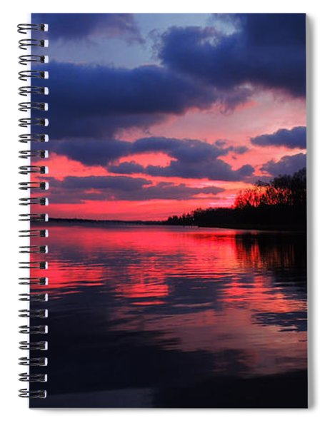 Locust Sunset Spiral Notebook