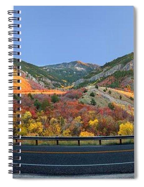 Logan Canyon Spiral Notebook
