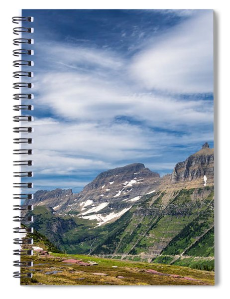 Logan Pass Spiral Notebook