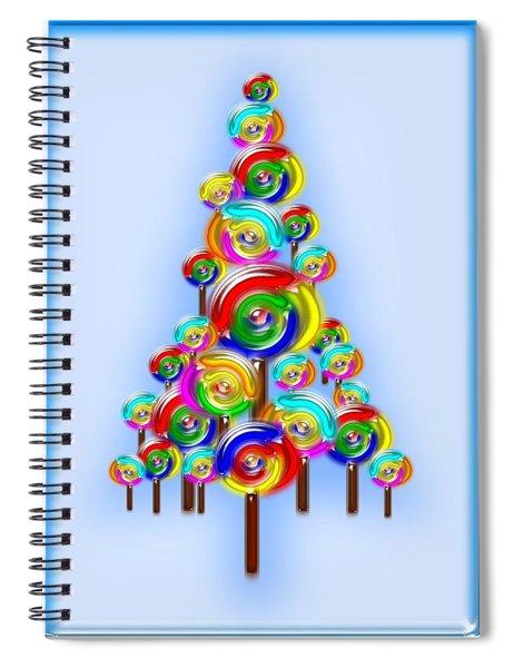 Lollipop Tree Spiral Notebook