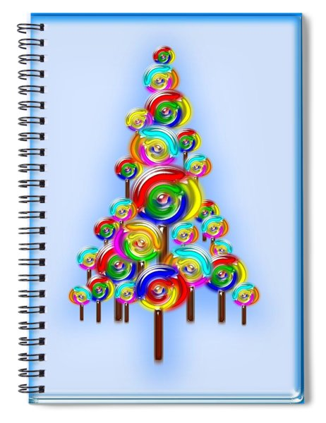 Lollipop Tree Spiral Notebook