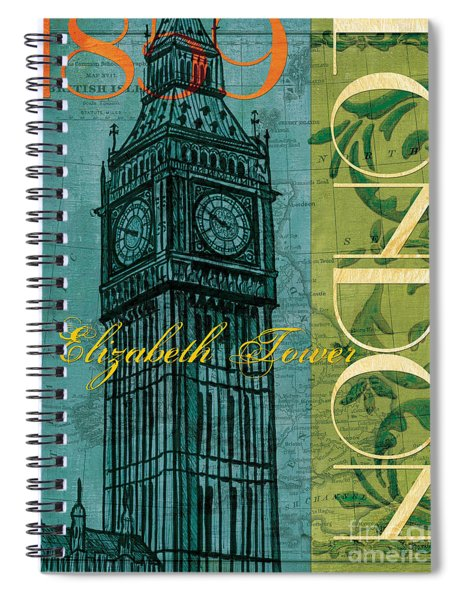 London 1859 Spiral Notebook