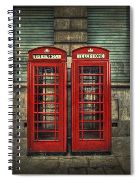 London Calling Spiral Notebook