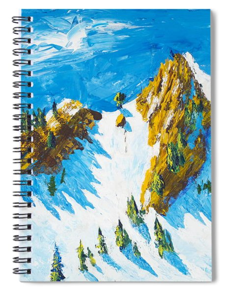 Lone Tree 1 Spiral Notebook