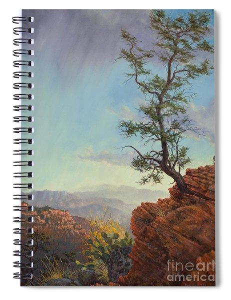 Lone Tree Struggle Spiral Notebook