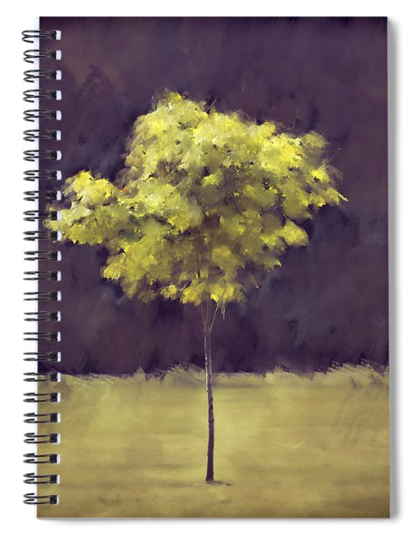 Lone Tree Willamette Valley Oregon Spiral Notebook