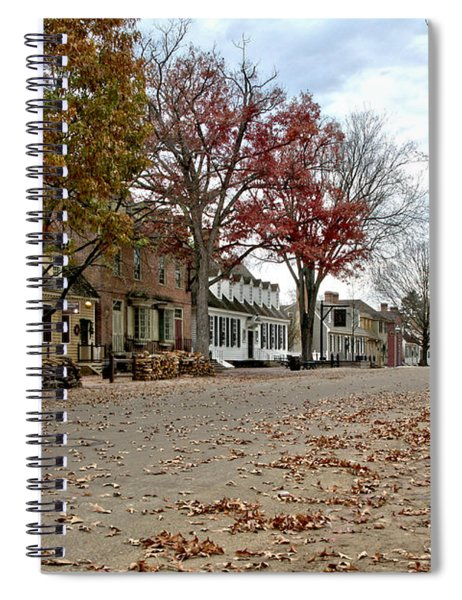 Lonely Colonial Williamsburg Spiral Notebook
