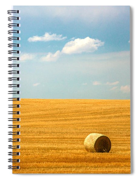 Lonely Fields Spiral Notebook