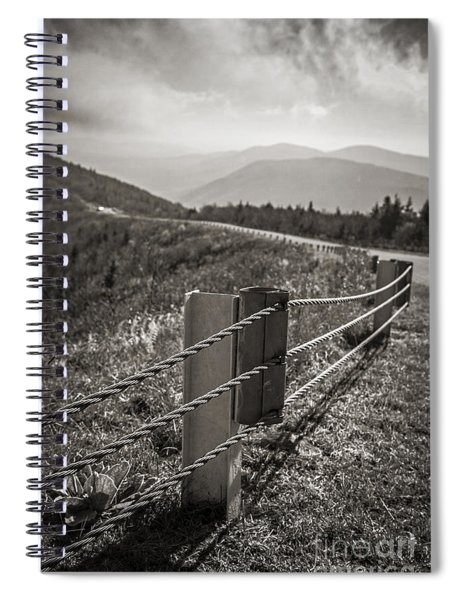 Lonely Mountain Road Spiral Notebook
