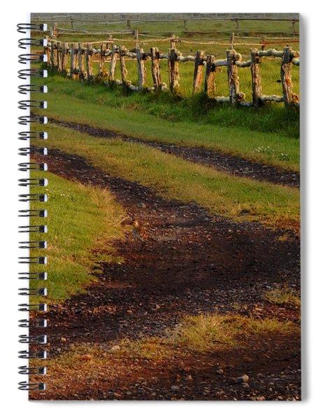 Long Dirt Road Spiral Notebook