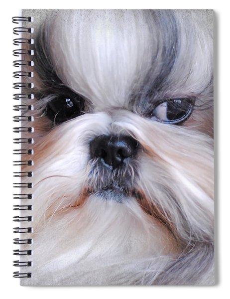 Long Haired Shih Tzu Spiral Notebook