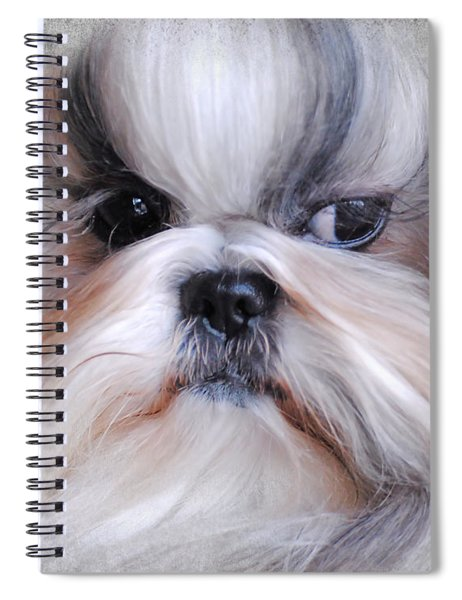 Long Haired Shih Tzu Spiral Notebook