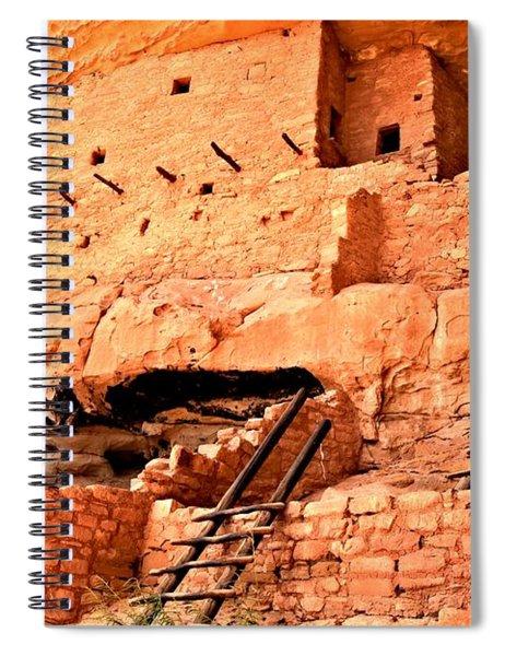 Long House Ladders Spiral Notebook