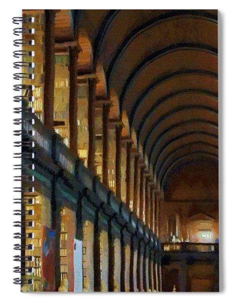 Long Room Spiral Notebook