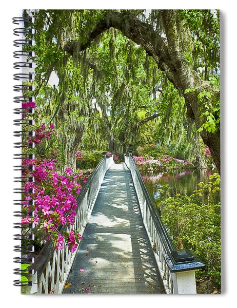 Long White Bridge Spiral Notebook
