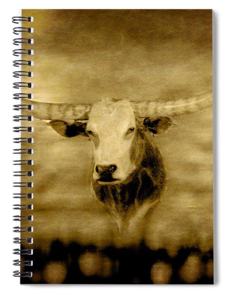 Longhorn Bull Spiral Notebook