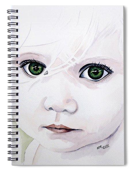 Longing Eyes Spiral Notebook