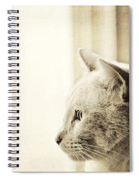 Longing Spiral Notebook