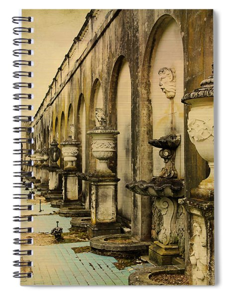 Longwood Gardens Fountains Spiral Notebook