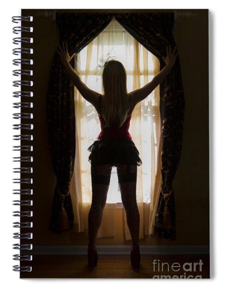 Look Through My Window Spiral Notebook