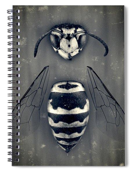Looking Down Upon Myself Spiral Notebook