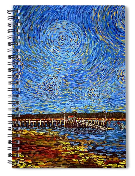 Looking East - St Andrews Wharf 2013 Spiral Notebook