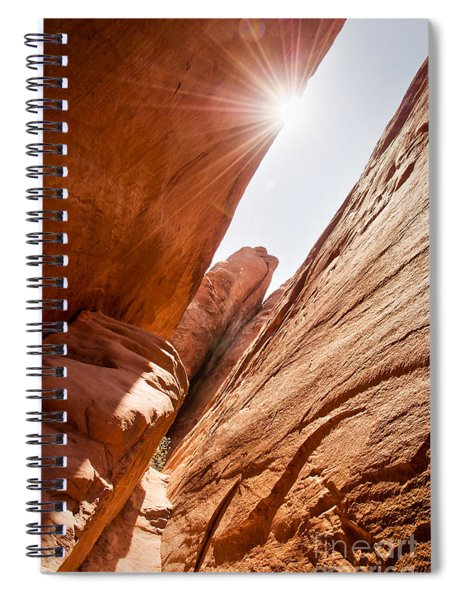 Looking For Sand Dune Arch Spiral Notebook