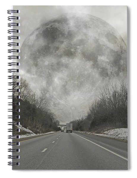 Looking Forward Spiral Notebook