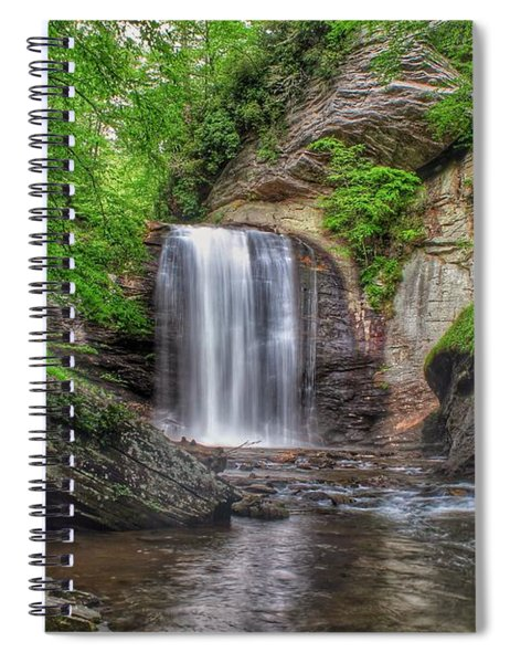 Looking Glass Falls Spiral Notebook