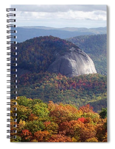 Looking Glass Rock And Fall Folage Spiral Notebook