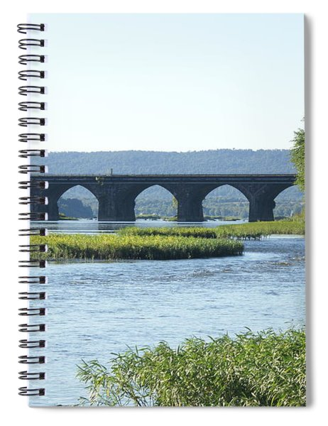 looking north at the Rockville Bridge   # Spiral Notebook