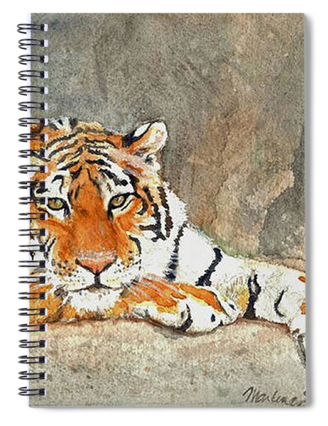 Lord Of The Jungle Spiral Notebook