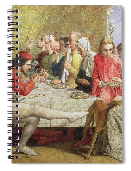 Lorenzo And Isabella Wc On Paper Spiral Notebook