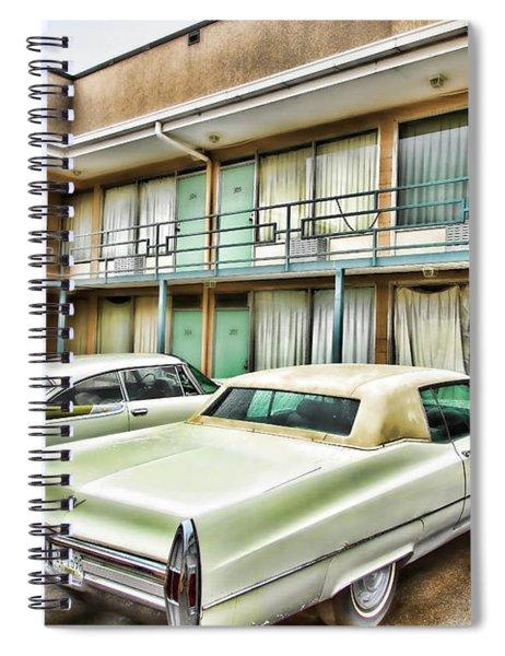 Lorraine Hotel Room 306 Spiral Notebook