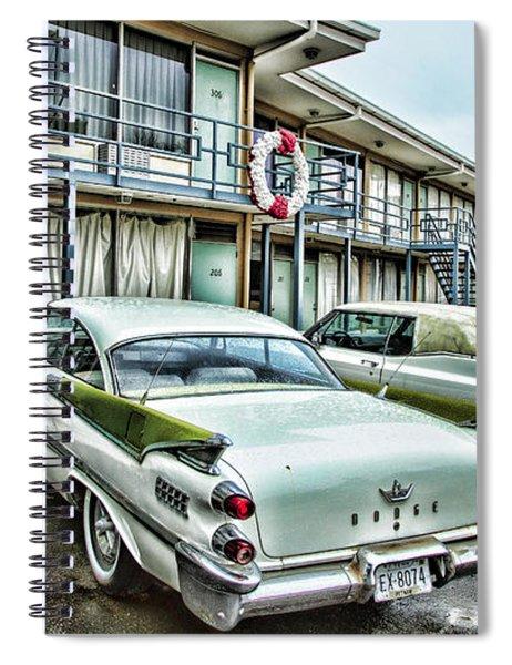 Lorraine Motel - Memphis Spiral Notebook