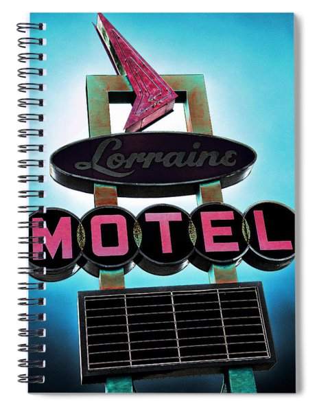 Lorraine Motel Spiral Notebook